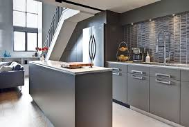 grey modern kitchen design kitchen sleek kitchen design ideas for modern stylish home sleek