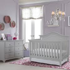 Gray Convertible Crib by Ti Amo Catania 2 Piece Nursery Set Convertible Crib And Carino