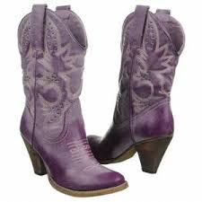 womens boots denver denver boots purple leather s boots 8 5 b