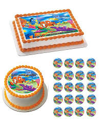 nemo cake toppers nemo 1 edible birthday cake or cupcake topper edible prints on