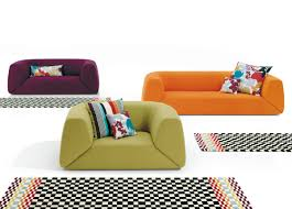 missoni home gravita 2 seat sofa missoni home furniture