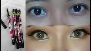 Eyeliner Spidol Murah review eyeliner spidol qicy murah bagus banget by v