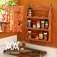 Free Woodworking Plans Bookcase by 100 Best Spice Rack Plans Images On Pinterest Spice Racks