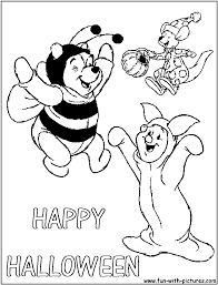 happy halloween text png winnie the pooh halloween coloring pages coloring coloring pages