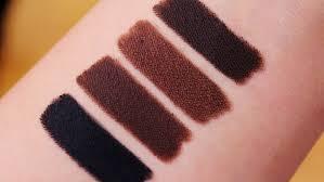 light brown gel eyeliner l a gel glide eyeliner swatches full collection lovemy makeup