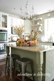 Decorating Ideas For Kitchen Islands Kitchen Fall Decor Ideas That Are Simply Beautiful Decorating A