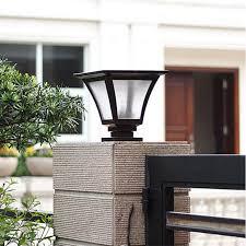 Outdoor Pillar Lights Solar Pillar Lights Outdoor Light Ideas Light Ideas