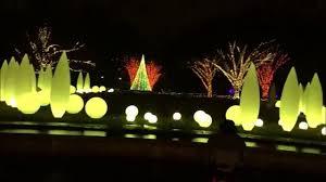 light show in atlanta atlanta botanical garden christmas forest of light show 2015 youtube