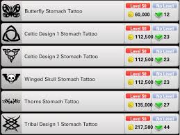 tattoos prices ourgemcodes