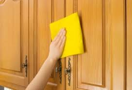 How To Clean Kitchen Cabinet Doors How To Clean Tough Kitchen Grease