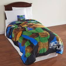 Ninja Turtle Bedroom Furniture by Nickelodeon Teenage Mutant Ninja Turtles Plush Blanket Shop Your