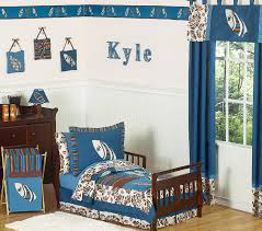Jojo Designs Crib Bedding Sets Sweet Jojo Designs Surf Blue Collection 5pc Toddler Bedding Set