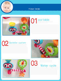 baby bath toys for kids 2016 bathing shower faucet funny water baby bath toys for kids 2016 bathing shower faucet funny water spraying tool dabbling toy drop