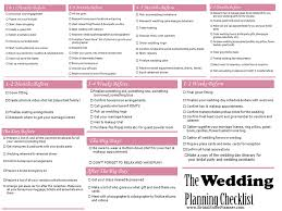 wedding todo checklist wedding checklists