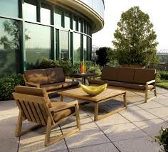 outdoor living teak furniture design of vancouver loveseat by