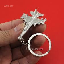 unique key ring hapiship metal unique key ring warplane aircraft shaped key chain