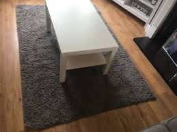 Ikea Grey Laminate Flooring Ikea Hampen Grey Rug 133cm X 195cm Rrp 30 In Chingford London