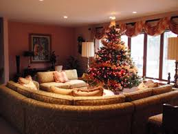 beautiful contemporary living room with decorated christmas tree beautiful contemporary living room with decorated christmas tree