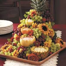 fruit centerpiece cascading fruit centerpiece recipe taste of home