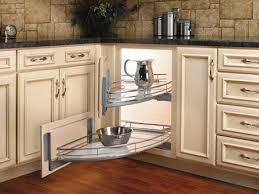 Blind Corner Storage Systems Kitchen Corner Cabinetry Options Ideas That Allow For Easy