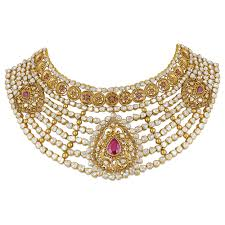 wedding gold sets wedding gold necklace bridal gold necklace set polki necklace set