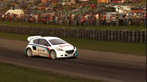 peugeot england dirt rally peugeot 208 rx england lydden hill youtube