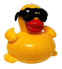 amazon com game 5001 inflatable derby duck pool toy garden u0026 outdoor