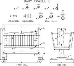 Free Woodworking Plans Childrens Furniture by 22 Best Cradles U0026 Cribs Images On Pinterest Baby Cradles Baby