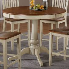 Best Dining Set Images On Pinterest Counter Height Dining - Antique white pedestal dining table