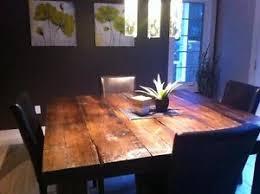 modele de table de cuisine en bois table en bois de grange plus de 40 modèles disponibles