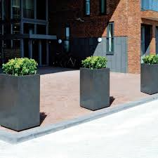 square concrete planter la kasa llc square concrete pot planter