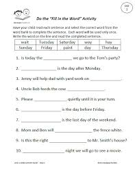 worksheets for language arts free worksheets library download