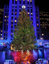 rockefeller center tree address lights