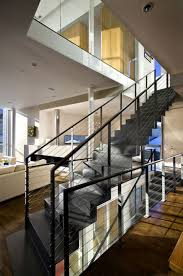 stair gorgeous home interior stair design using wire black