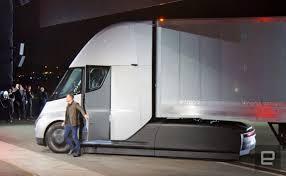 luxury semi trucks tesla u0027s latest semi electric truck customer is dhl