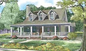 country house plans wrap around porch one country house plans with porches ideas house plans 40277