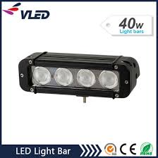 led light bar bundle china 40w epistar cree led single row offroad led light bar for