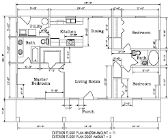 view floor plans for metal homes floor plan for the autumn view 1 model 1 170 square feet steel