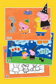 peppa pig halloween activity pack nickelodeon parents