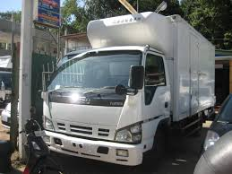 isuzu elf truck freezer