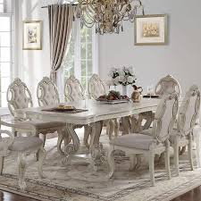 Dining Room Chairs And Table Ragenardus Dining Room Set Antique White Formal Dining Sets
