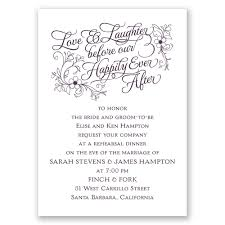 dinner invitation laughter mini rehearsal dinner invitation invitations by