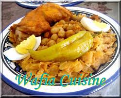 wafia cuisine recette cuisine tunisienne nouasser tunisienne wafia cuisine