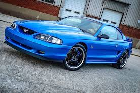98 ford mustang for sale bright atlantic blue ford code k7 1998 ford mustang gt for sale