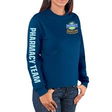 pharmacy team long sleeve t shirt positive promotions
