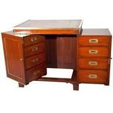 antique folding campaign desk 1908 christopher clarke antiques