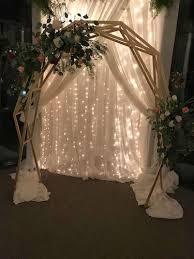 wedding arch used decorative arch or wedding arch next door renter