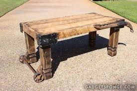 Barn Wood Coffee Table Hame And Caster Barn Wood Coffee Table Junkmarket Style