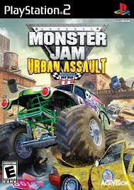 monster truck racing association monster jam urban assault review ign