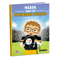 pittsburgh steelers nfl football personalized book personalized